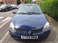 Renault Clio Hatchback 2005 1.4 16v Expression 5dr Blue