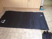 Double outdoor leisure trail self inflate air bed