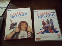 dvd films , little britain the complete first and second seasons