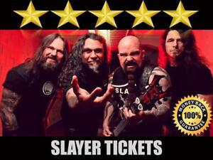 Cheap Slayer & Lamb Of God Tickets  | Last Minute Delivery Guaranteed!