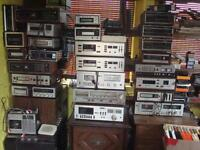 A Great selection of stereos for sale