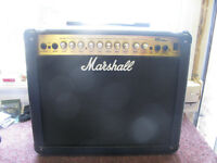 Marshall Guitar Amplifier Model Series 30 DFX, With Carrying Handel.