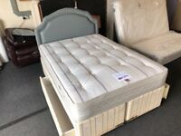 Bensons 4ft 6' divan set