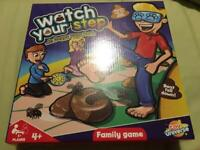 Watch your step game