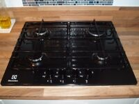 Electrolux Gas Hob in good condition. Previously fitted in brand new Kitchen