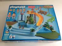 Playmobil (4858) Pool with water slide.