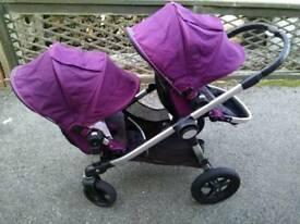 Double buggy: baby jogger city select