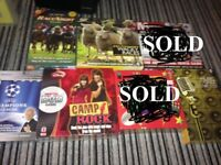 DVD/CD Games - All Brand New and Sealed