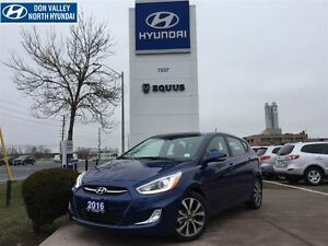2016 Hyundai Accent GLS - 5 DOOR, POWER SUNROOF, BLUETOOTH