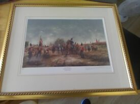 SIGNED MILITARY PRINTS BY DAVID CARTWRIGHT