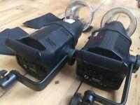 Bowens studio lights kit 400-200 watts