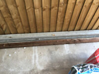 8ft Slotted Concrete Fence Post