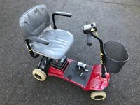 Mobility Scooter, Pro Rider Freedom. 4 wheel, batteries 9 mths old, Excellent all-round condition.
