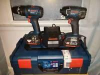 Bosch professional drills set