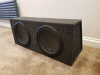 JL Audio JL 13W3v3-4 13.5'' Subwoofer with Custom Enclosure