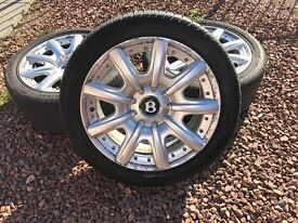 Bentley continental gt '9j'19 inc alloys also fit vw
