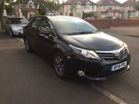 Toyota Avensis 2014 ICON Diesel Black Full Toyota Service History! Only £30 Road Tax!
