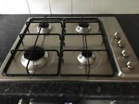 Smeg fan assisted electric oven and gas hob