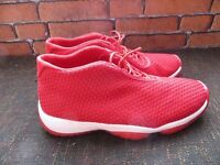 Jordan Air Future Low Red shoes size 11 uk