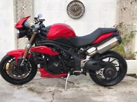 BARGAIN TRIUMPH SPEED TRIPLE WITH LOW MILEAGE