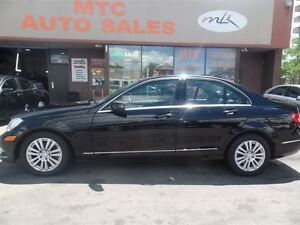 2012 Mercedes-Benz C-Class C250 4MATIC, LEATHER, BACKUP CAM, KM: