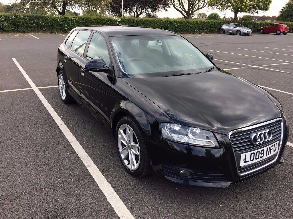 audi a3 tdi 1 9 e sport 2009 facelift immaculate condition full service history in slough. Black Bedroom Furniture Sets. Home Design Ideas
