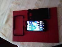 mobile phone MOTOROLA RAZR-HD.