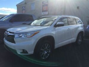 2014 Toyota Highlander XLE-LEATHER/SUNROOF+XTRA WARRANTY!