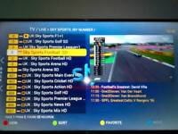 Superview tv box , 7 day catch up, 3000 +FHD channels& vod section