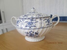 Johnsons Blue Indies/Lily china, rare.