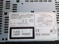 SONY - CD Player and Radio