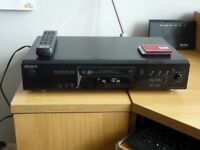 SONY MDS-JE840 Minidisc Player with pack of 10 x discs.