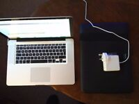MacBook Pro 15', NVIDIA GeForce 9600M GT, 2.66GHz, 8GB RAM, 250GB SSD