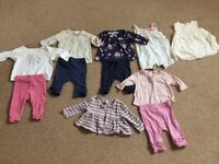 Next/John Lewis baby clothes - 6 outfits 0-3 months