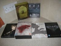 Game of Thrones dvd boxsets season 1, 2, 3, 4, 5 and 6
