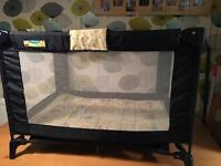 Travel cot great condition Winnie the Pooh
