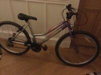 """Girls bike 26"""" frame, suit ages 10/11-14/15, Girls Concept Élysées mountain bike"""