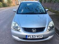 Honda Civic 1.6 , automatic, 5 door, Long MOT , Full service history , 2 keys