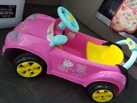 Peppa Pig Ride on Battery Operated Car