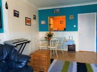 Short term (3 to 5 months) : Large furnished very central 2-bed flat with large lounge