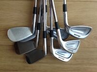 Mizuno mp 60 irons 4-pw excellent condition,regular shafts a quality set for all golf ability
