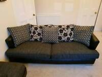 4 seater sofa + 1 seater chair + foot stool - sofa suite