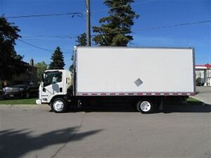 2012 Isuzu Nrr Diesel 20 ft box HIGH & WIDE X 3