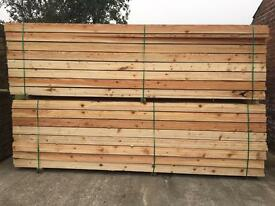 Wooden Scaffold Style Boards ~ 12FT/14Ft