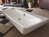 Large Vitra designer bathroom basin/sink