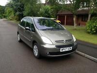 2008 Citreon Xsara Picasso 1.6ltr Manual Diesel 12 Months MOT