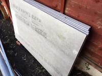 6 x Hardiebacker tile board