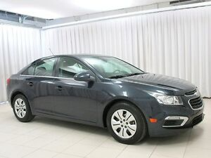 2015 Chevrolet Cruze LT TURBO SEDAN w/ BLUETOOTH, FOG LIGHTS & C