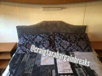 Craig Tara caravan hire NOT sandylands 29th April