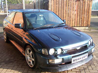PROJECT ESCORT RS COSWORTH REPLICA THOUSANDS SPENT £3000 NO OFFERS